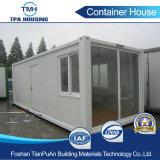 casa móvil del envase del paquete plano de los 20FT para el proyecto de la casa del bajo costo