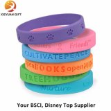 Preiswerte Debossed SilikonWristbands mit Ihrem Firmenzeichen