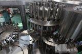 自動びん詰めにされた水生産工場