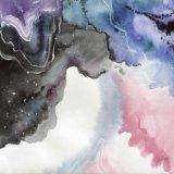 Erstaunlicher Galaxie-Wand-Kunst-Segeltuch-abstrakte Kunst-Druck