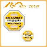 Горячий датчик удара пакета индикатора удара g Shockwatch