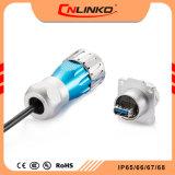 試供品Usbのタイプ3.0コネクターまたは円Usbのケーブルおよびコネクターの/Dual Usbのコネクター