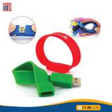 Personalizzare l'azionamento dell'istantaneo del USB della parentesi del silicone strappano il disco di memoria del USB