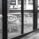 Panneau décoratif de rideau perforé intérieur en métal