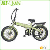 Jse-Moto 20 '' faltendes fettes Gummireifen E-Fahrrad mit verstecktem Batterie-Gewehr