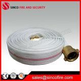 Manichetta antincendio allineata gomma della tela di canapa del PVC di prezzi di fabbrica