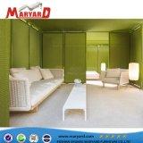 Mobilia esterna stabilita del patio della mobilia della corda tessuta nuovo disegno