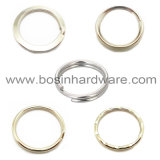 Grande anello spaccato dell'acciaio inossidabile del metallo 58mm