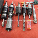 강철 플레이트 플랜지 및 관판을%s 수직 CNC 드릴링 기계