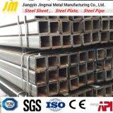 Fatto in Cina del tubo quadrato d'acciaio vuoto laminato a caldo del grande diametro