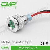 indicatore luminoso di indicatore impermeabile placcato rame di 8mm