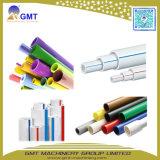 Cadena de producción plástica de la protuberancia del tubo/del canal del dren del PVC UPVC