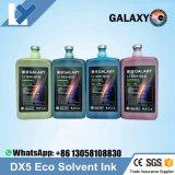 Epson Dx4/Dx5/Dx7の印字ヘッドのEcoの支払能力がある印刷インキのEcosolventインクのための工場か卸売価格ギャラクシーDx5 Eco支払能力があるインク