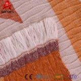 Fashion Design décoratif tricot de câble de jeter de l'acrylique couverture avec Tassel