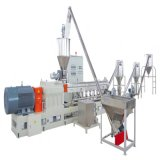 O plástico da certificação do GV recicl a granulação da pelota que faz a maquinaria