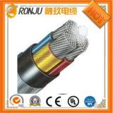 IEC, DIN, BS, 450/750V AC медный проводник, XLPE изоляцией, плести косичку экранированный, ПВХ пламенно гибкий кабель управления