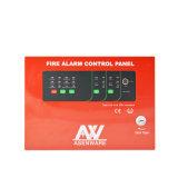 Panel de control convencional de la detección de fuego del alambre de Asenware 2