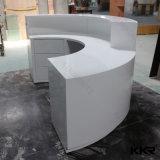 Изготовленный на заказ твердый поверхностный стол приема трактира