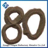 연마재와 내화 물질을%s 높은 순수성 Al2O3 95% 브라운 강옥