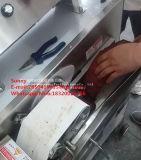 Automatischer Scherblock-Typ gekochte Fleisch-Ausschnitt-Schneidemaschine, Steak-Schweinefleisch-Schwein-Ohr/Bason, das Gerät mit entfernbarem Förderband zerreißend schneidet