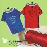 Yj79419 wärmen das Hundeweiche, das im Freienwinter-Kleidung spielt