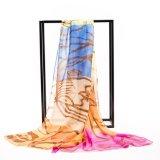 Impressão de seda do lenço de Digitas da alta qualidade