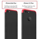 Cas de Pcphone de la pleine couverture 360 avec le protecteur d'écran pour l'iPhone 7