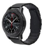 Cinturino del rimontaggio per la cinghia del classico dell'attrezzo S3 di Samsung/dell'acciaio inossidabile della fascia 22mm Smartwatch di frontiera