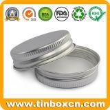 el bálsamo de labio de aluminio 15ml conserva el tarro poner crema cosmético