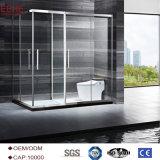 Pequeño recinto circular China de la ducha de Foshan producida