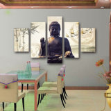 5 Unidades DE La Lona Arte Moderno Impreso Foto DE Pintura DE Pinturas DE Buda Buda
