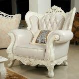 Sahnefarben-königliches Sofa für Wohnzimmer-Möbel (159)