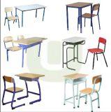 최신 판매 현대 강철 목제 학교 학생 책상 및 의자