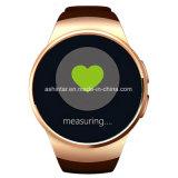 소맷동이 지능적인 시계 심박수 모니터 지원 SIM TF 카드 자명종에 의하여 Bluetooth