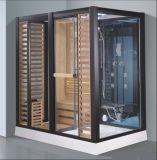 Sauna combinada vapor do retângulo com chuveiro (AT-D8876)