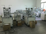 Chirurgische Wegwerfgesichtsmaske, die Maschine herstellt