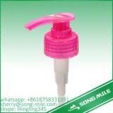 Pompa di plastica cosmetica arancione della lozione di colore 2.0cc per sciampo