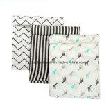 卸し売り通気性の綿モスリンの赤ん坊毛布