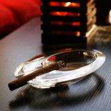 Het Europese Asbakje van uitstekende kwaliteit van het Kristal voor de Decoratie van de Herinnering