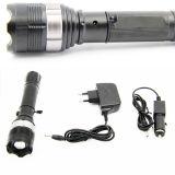 18650 Cree XP-E rechargeable Lampe torche à LED de la police (POPPAS-T823)