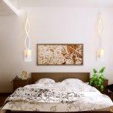 Светильник стены алюминия СИД самомоднейшей спальни романный белый