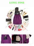 Saco de nylon da trouxa da lona de Oxford da forma ao ar livre das mulheres das meninas das senhoras para o curso da compra