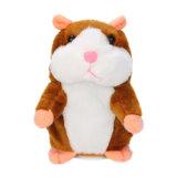 Het aanbiddelijke Fabriek Aangepaste Speelgoed van de Pluche van het Verslag van de Hamster Interessante Sprekende