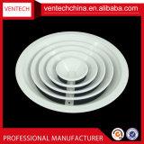 Systèmes HVAC Air conditionné Rond en aluminium Rampes de ventilation