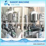 Pequeña cadena de producción automática del agua mineral de la botella del animal doméstico