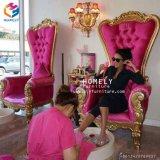 Rei usado cadeira Cadeira da cadeira de Pedicure da massagem da seiva do pé com bacia do pé