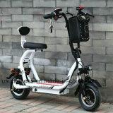Cer-anerkannter erwachsener ungewöhnlicher schwanzloser übersetzter Motor, der den 2 Rad-elektrischen Roller faltet