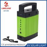 Reproductor de MP3 de la luz solar con 9V de 3 vatios de carga del panel solar