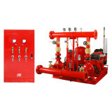 Pompe à incendie d'étape simple d'entraînement de moteur diesel