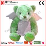 Urso macio da peluche do luxuoso dos animais enchidos do brinquedo do afago para miúdos/crianças